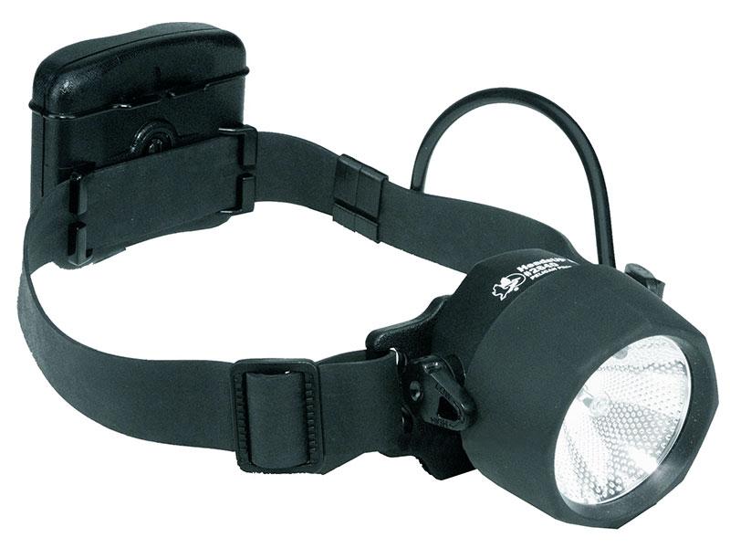 Hjälmlampa - Ficklampa - Ex klassad LED lampa